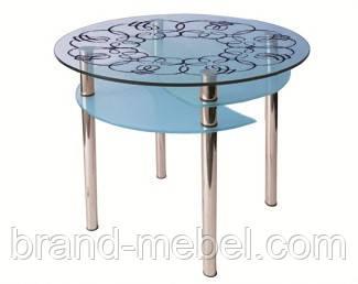 Стол стеклянный Элегант покраска