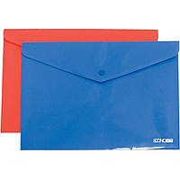 Папка конверт на кнопке А4 Economix E31305