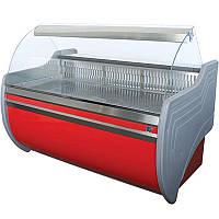 Холодильная витрина Айстермо ВХСКУ ОРБИТА 1.8 (-4...+5°С, 1800х1000х1200 мм, гнутое стекло)