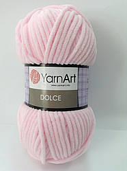 Пряжа dolce - цвет розовый