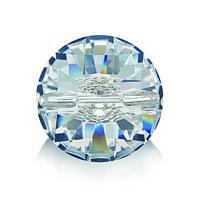 Стразы пришивные Asfour Пуговица 14мм. Crystal