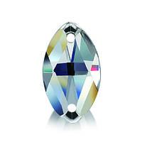 Стразы пришивные Asfour Маркиз 12мм. Crystal