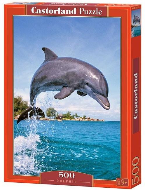 Пазлы Castorland Дельфин 51731, 500 элементов