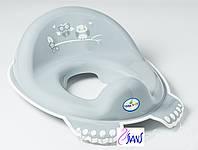 Накладка на унитаз антискользящая SO-002 Sowy Tega  цвета в ассортименте 60518-60519