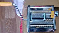 Лапшерезка (тестораскатка) механическая (ручная)  для приготовления пасты (макарон)