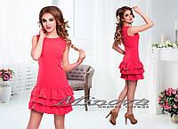 Модное  платье Коктель,размеры 42-48. в расцветках