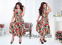 Модное женское платье Сафари,размеры 50-56 в расцветках