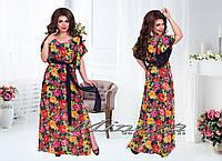 Недорогое женское платье Дева,размеры 50-56 в расцветках
