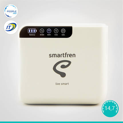 Мобильный 3G WiFi Роутер Haier Smartfren Connex M1 (Rev. B + Power Bank), фото 2