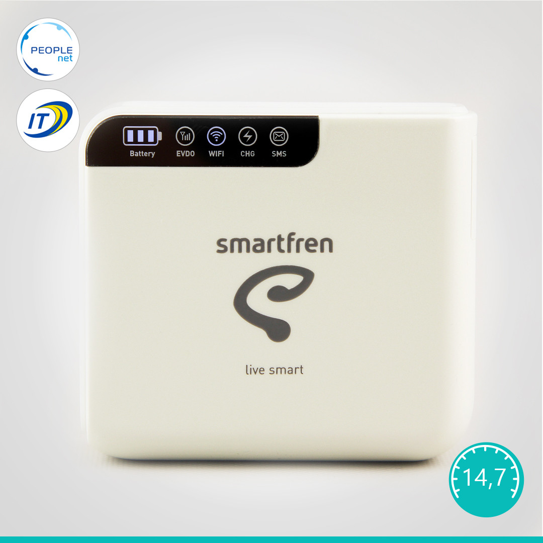 Мобильный 3G/4G WiFi Роутер Haier Smartfren Connex M1 (Rev. B + Power Bank)