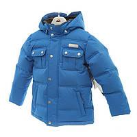 Куртка термо GWB 5879 Blue, Пух 70%, Перо 30%, GUSTI
