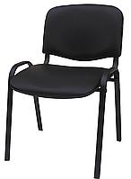 Стул офисный ISO black кожзам, фото 1
