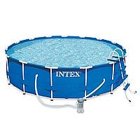 Каркасный круглый бассейн для всей семьи 28236 (54946) Intex (457x122 см) HN