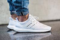 "Мужские Кроссовки Adidas Ultra Boost M ""White"" 43"