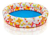Бассейн 59421 круглый цветной, кулёк, 122 х 25 см