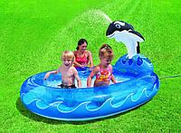 """Детский надувной бассейн с фонтаном """"Касатка"""" Intex 57436 KK"""