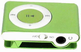 Мини Mp3 плеер с прищепкой в комплекте с наушниками и USB
