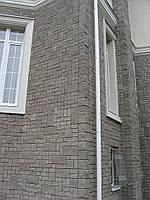 Кирпич декоративный узкий угловой Серый