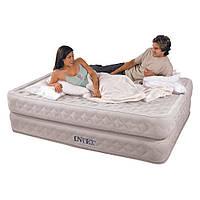 Велюр кровать Intex со встроенным насосом 220В, 66962 HN