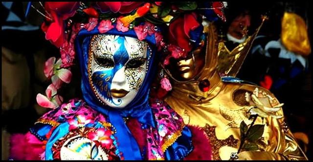 маски маскарадные