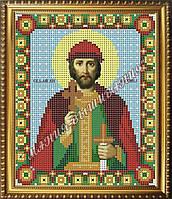 Схема для вышивания бисером Икона Святой благоверный князь Михаил