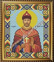 Схема для вышивания бисером Икона Святой царь мученик Николай
