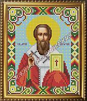Схема для вышивания бисером Икона Святой мученик Григорий