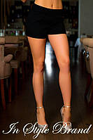 Стильные короткие женские летние стрейчевые шорты с карманами. Арт-5578/56