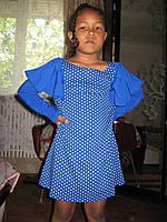 Платье на девочку из хлопка