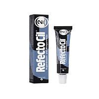 Краска для бровей и ресниц черно-синяя №2 Reflecto Cil