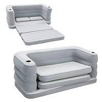 Велюровый-диван раскладной надувной Bestway BW 75063