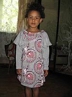 Платье на девочку из хлопка, фото 1
