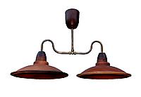 Люстра Gryb-Light, LOFT Plate L0113-2, керамика.