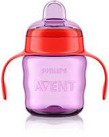 AVENT Чашка с носиком 200 мл, 6 мес+. SCF551/03 девочка, фото 1