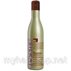 Бальзам для сухих, обесцвеченных и ломких волос, несмываемый  BES SILKAT NUTRITIVO N2 300 мл