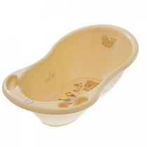 Ванночка Tega Baby Мишка MIS MS-005 с термодатчиком cappuccino капучино