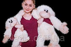 Мягкая игрушка Обезьянка 55 см. Белый