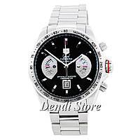 Часы TAG Heuer Grand Carrera Calibre 17 Quartz Steel Silver-Black