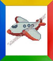Схема для вышивания бисером Самолётик