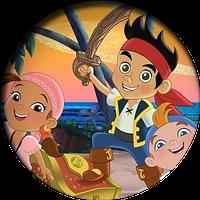 Джейк и пираты нетландии 8  Вафельная картинка