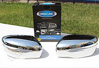 Nissan Juke 2014 Накладки на зеркала пласт OmsaLine