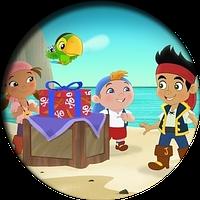 Джейк и пираты нетландии 9  Вафельная картинка