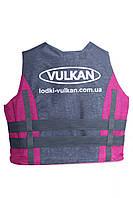 Страховочно - спасательный жилет 30-50 кг Розово-серый