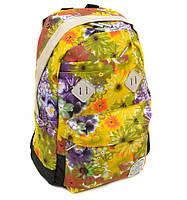 Рюкзак Городской текстиль Lanpad 3361 black-yellow