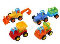 Детские машинки Стройтехника 5309 A инерционные, 10см, 4 вида