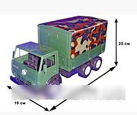 Автомобиль КамаЗ Х2 тент военный 884