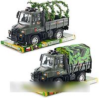 Детская машинка 377 AB Военная, инерционная