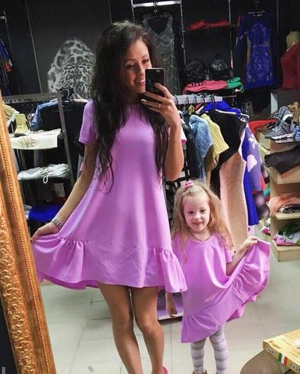 Одинаковая одежда для мамы и дочки купить