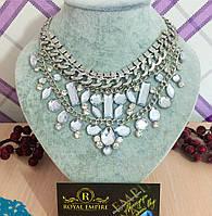 "Модное ожерелье ""Серебро""."