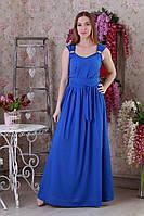 Легкое шифоновое макси-платье